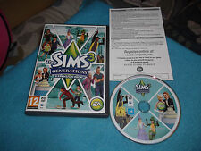 Les Sims 3 Generations Expansion Pack PC/MAC DVD-V.G.C. FAST POST complet