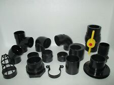 2.0 INCH SOLVENT WELD PIPE FITTINGS KOI POND