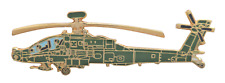 Boeing AH-64 Apache United States Army USA Pin Badge
