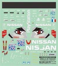 DECALS 1/24 NISSAN ORECA 03 - #26 WINNER LMP2 LE MANS 2011 - COLORADO 24135