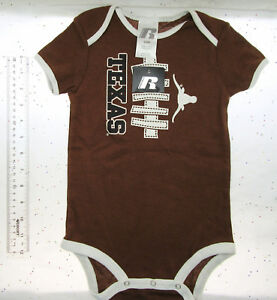 Baby ~ Size 24M ~ Texas Longhorns Football ~ One Piece Clothing ~ New