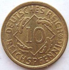 superior! 10 Reichspfennig 1925A EN EXCELENTE