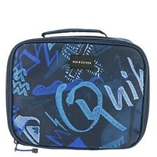 QUIKSILVER INSULATED COOLER SCHOOL LUNCH LADY LAND BOX BAG TOTE ZIPPERED BLUE