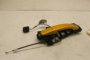 2013 2014 Ford Focus ST oem st3 LH driver side rear door handle assembly yellow