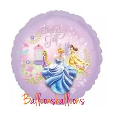 "Princess 18"" ballon fête anniversaire belle cendrillon raiponce anagram disney uk"