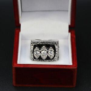 Raiders Super Bowl Ring Los Angeles Raiders 1983 Championship Ring with Box