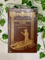 The Adventures of Huckleberry Finn - Sealed Easton Press Collector's Edition