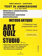 Artquiz Studio GIALLO per Test Medicina, Odontoiatria, Veterinaria - PDF