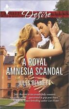 A Royal Amnesia Scandal (Harlequin Desire), Bennett, Jules, 0373734018, Book, Go