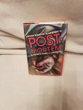 """Postmortem by Patricia Cornwell, 1st Edition,Hardback Inscribed by Author """"Rare"""""""