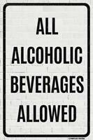 POSTER 12x18 NOT REALLY DRINKING ALONE DOG HOME FUNNY WITTY PP050