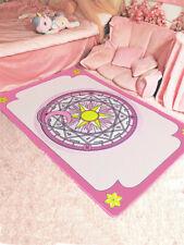 Card Captor SAKURA Magic Circle Carpet Sofa Mat Foot Pad Rugs Living Door Room