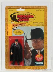 Indiana Jones ROTLA 1982 Vintage Kenner 4 Back Toht MOC AFA 80+
