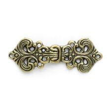 Fleur Clasp: 60mm: Brass