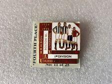 1924/25 Liverpool quatre premiers finisseurs badge