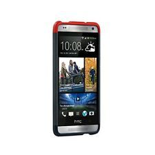 HTC One Mini Double Dip Hard Shell (Grey/Blue/Red) - HC C850