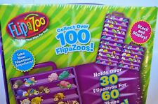 FlipaZoo Carry Case Jay Play Flip A Zoo + two flipazoos & collector's guide NEW