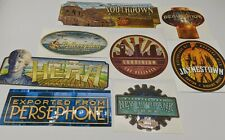 Firefly Serenity Export Sticker Set of 8 Loot Cargo Crate Exclusive New