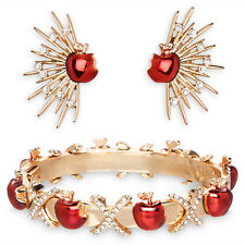 Disney D23 2017 Art of Snow White Jewelry Set Danielle Nicole Bracelet Earrings