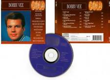 """BOBBY VEE """"Gold"""" (CD) 1993 - 12 Titres : Devil Or Angel,Rubber Ball,Suzie Baby.."""