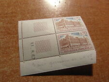 2 TIMBRES FRANCE COIN DATE MILLESIME / YT 1501 st GERMAIN 31 08 1967 + VARIANTE