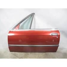 BMW E30 3-Series Convertible Cabrio Left Driver's Door Shell Calypso Red 87-93