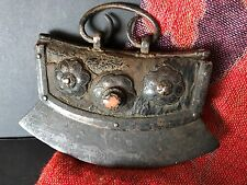 Old Tibetan Fire Starter / Chuckmuck with Red Coral …beautiful collectors piece