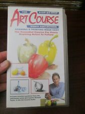 Step by Step Art Course Vol 1   VHS Video Tape (NEW)