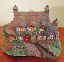 Thomas Kinkade Hawthorne Village Julianne's Cottage 2000 Miniature Handpainted