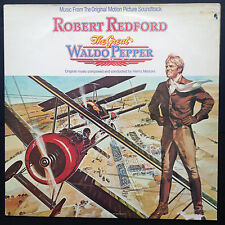 Henry Mancini THE GREAT WALDO PEPPER Film Soundtrack OST LP 1975 Robert Redford