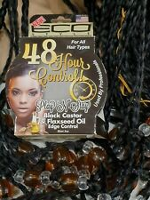 48 Hour Control Black Castor & Flaxseed oil Edge Control