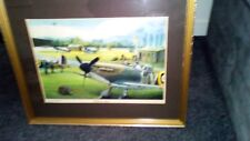 hand Signed spitfires rest by philip west limited edition