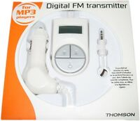 THOMSON TRANSMISOR DIGITAL DE FM REF. MPFM02  PARA  MP3 PARA USO EN AUTO RADIO