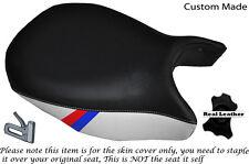 DESIGN2 BLACK&WHITE CUSTOM M3 STRIPE FITS BMW R 1200GS LC FRONT 13-15 SEAT COVER