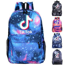Boys Girls Tik Tok Fortnite Galaxy  School Bag Backpack Rucksack
