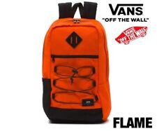 NEW VANS SNAG Backpack Orange Flame LAPTOP SLEEVE old skool Trujillo