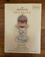 Vintage Hallmark Keepsake Christmas Ornament - Mary's Angels - Snowball - 2007