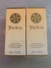 2 Avon Timeless Cologne Spray 1.7 fl oz - Retired 2014 Packaging Nib free ship
