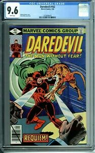 DAREDEVIL 162 CGC 9.6 WP NEW NON-CIRCULATED CGC CASE Marvel Comics 1/80