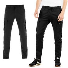 Reell Reflex Easy Cargo Pant Cargohose Freizeithose Streetwear Schwarz Black
