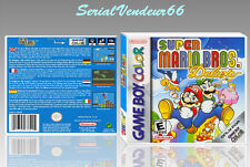 "Boitier du jeu ""SUPER MARIO BROS DELUXE"", Game Boy Color. FR. HD. SANS LE JEU."