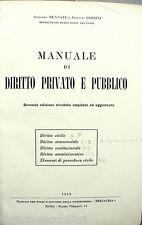MANUALE DI DIRITTO PRIVATO E PUBBLICO Antonio Bennati Franco Bozzini Giuridica