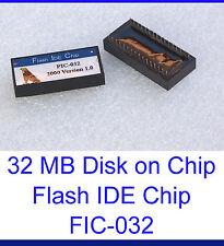 DISK ON CHIP 32 MB 32MB FLASH DISK PIONEERS DOC FESTPLATTE FIC-032 FIC-32 FIC32