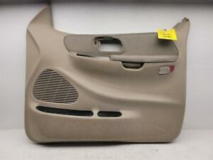 99-03 FORD F150 Passenger Front Door Inside Trim Panel Right Tan OEM Ext Cab