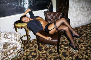 Miss Naughty 07 High Shine Gloss Sheer Stockings 15 Denier Made in UK