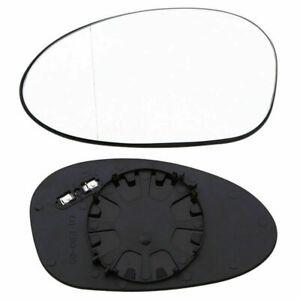 Passenger Right Side Mirror Glass W/Backing Plate Heated for BMW E82 E90 E91 E92
