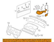 PORSCHE OEM 2007 911 Interior-Rear-Seat Belt Trim Left 997555245005Y2