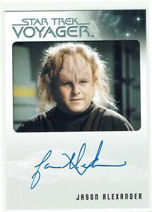 Star Trek Voyager Heroes & Villains Archive Box Autograph Card Jason Alexander