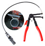 Flexible Wire Long Reach Hose Clamp Pliers For Fuel Oil Water Hose Auto Tool US