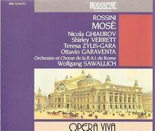 Rossini – Mosè / Ghiaurov • Verrett • Zylis-Gara • Garaventa [Box Set]